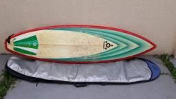 """Prancha de Surf Tricoast 6'8"""" com Deck e Leash e de Brinde leva a Capa"""