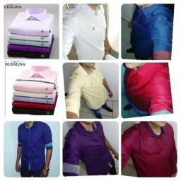 Título do anúncio: Camisa Dudalinas Slim FIT várias cor
