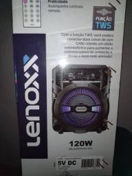 Caixa de Som Bluetooth Lenoxx Nova Aberta Somente Para Teste!