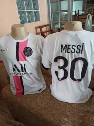 Título do anúncio: Camisa PSG/Messi primeira linha nacional