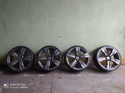 Rodas 24 com pneus