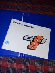 Título do anúncio: Manual do proprietário do gol Quadrado1000, mais capa.