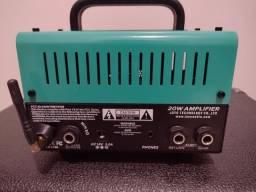 Vendo amplificador atômic drive valvulado joyo com caixa passiva meteoro guitarra