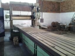 Plaina fresadora de mesa, hidráulica, marca Mayer Schaedler