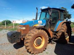 Trator New Holland TM180 4x4 Automatico A/C 2008 Pego carro