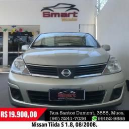 Smart Veículos - Nissan Tiida S 1.8, 08/2008 - 2008