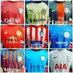 Camisetas times estrangeiros