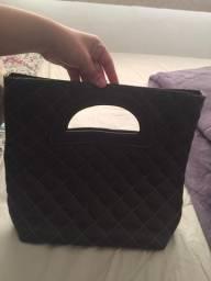 Bolsa de mão marrom