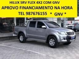 Toyota Hilux Srv Flex c/ Gnv - 2015