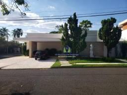 Casa com 4 dormitórios para alugar, 800 m² por r$ 10.000/mês - condomínio débora cristina