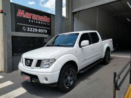 Nissan frontier 2008/2009 2.5 le 4x4 cd turbo eletronic diesel 4p manual - 2009