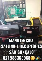 Manutenção Receptores e Satlink São Gonçalo