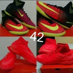 Futsal Nike usadas duas vezes 41 ao 44 leia descrição f294e3b21303c