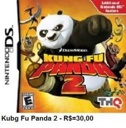 Kung fu panda 2 de Nintendo ds