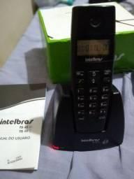 TELEFONE SEM FIO- INTELBRAS- TS 40 ID
