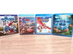Blu Ray 3D desenhos