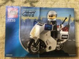 Lego City 7235 Motocicleta Da Policia