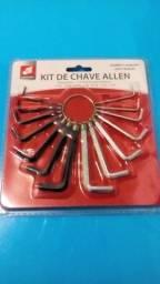 Kit de chave Allen 14 peças R$ 9,00 cada