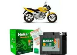 Bateria moto HTZ7l 6ah Heliar - 6 meses de garantia