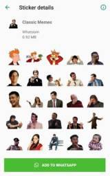 Pacotes de Figurinhas para Whatsapp Campanha Politica