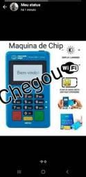 Maquina de cartão point chip