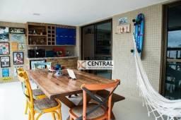 Apartamento com 3 dormitórios para alugar, 130 m² por R$ 5.000,00/mês - Pituba - Salvador/