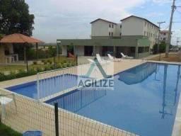 Apartamento com 2 dormitórios à venda, 46 m² por R$ 105.000 - Virgem Santa - Macaé/RJ