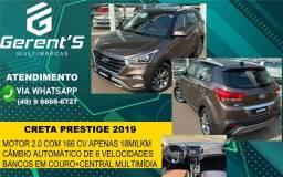CRETA 2019/2019 2.0 16V FLEX PRESTIGE AUTOMÁTICO