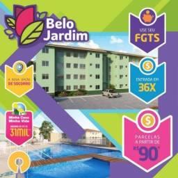 * Belo Jardim Socorro 2-4 saia ja aluguel Parcelas 100 Reais  &&