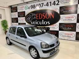 CLIO 2005/2005 1.6 AUTHENTIQUE 16V GASOLINA 4P MANUAL
