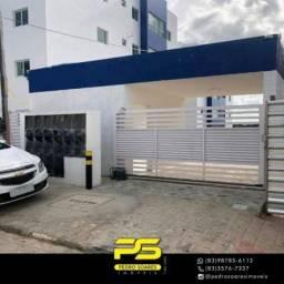 Apartamento com 2 dormitórios à venda, 50 m² por R$ 144.950,00 - Mangabeira - João Pessoa/