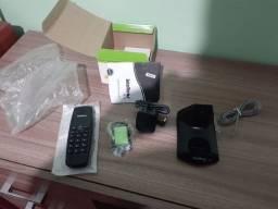 Telefone sem fio lacrado novo nunca usado..