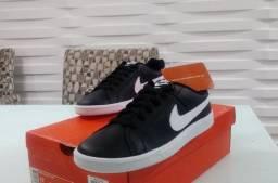 Tenis Nike Original 40 41 Couro Lacrado Na Caixa Ac. Cartão Retire/*Entrega Grátis Até 23h