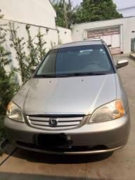 Civic automático Completo 2001