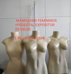 MANEQUINS + PEDESTAL EXPOSITOR
