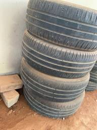 4 Pneus Michelin 205/55R16 do Corolla