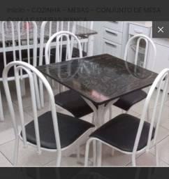 PROMOÇAO cj mesa + 04 cadeiras  FRETE GRATIS BH