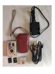 Câmera Digital Sony DSC-W210, original, 12.1 mega pixels