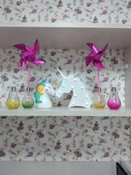 Vendo decoração de unicórnio