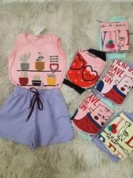 Vestuário infantil de 0 a 12 anos