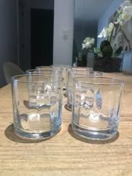 7 Copos de Cristal da Spicy para Whisky
