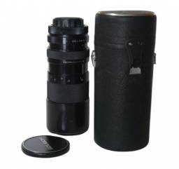Lente Tele Objetiva Soligor 70mm - 210mm F/3.5 Zoom & Macro