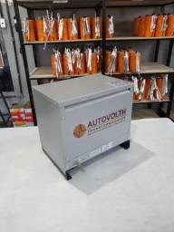 Autotransformador 15kVA trifásico 220v p/ 380v + N IP21