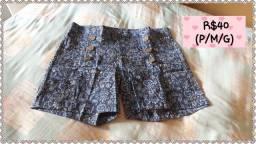 Lindos shorts, novos