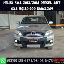 Toyota Hilux Sw4 diesel 4x4 automática 2013/2014 Jaime */ *