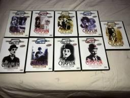 9 DVDs Charlie Chaplin preço por tudo Dvd