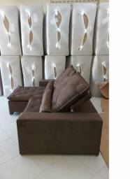 Conforto! Sofá Luxo Oliver 2,90m - com molas e pillow