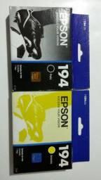 Cartucho de tinta Epson 194 - T194120 e T194420