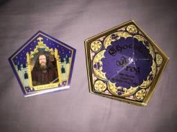 Cartão sapo de chocolate harry potter com caixa original parque