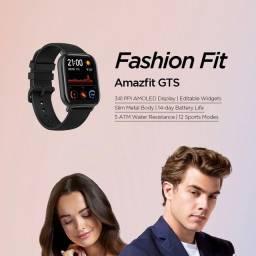 Smartwacth Amazfit GTS - Preto - Novo